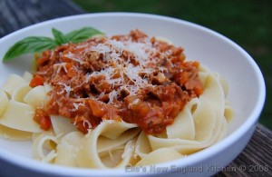 Ragu alla Bolognese