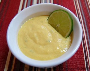 mango lime sauce
